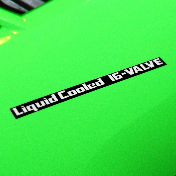 Autocollants: GPZ600R, LiquidCooled