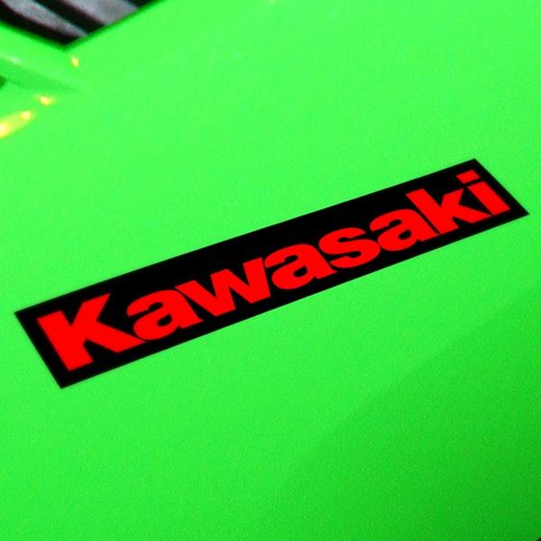 Autocollants: GPZ600R, KAWASAKI