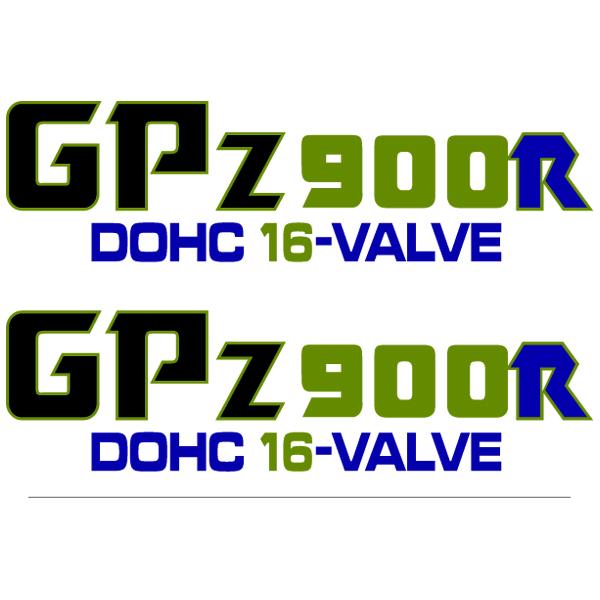Autocollants: GPZ900R DOHC