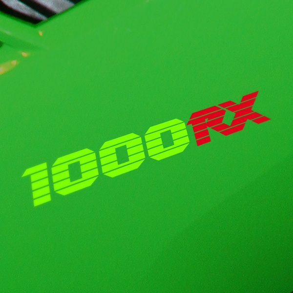 Autocollants: GPZ1000RX, 1000RX