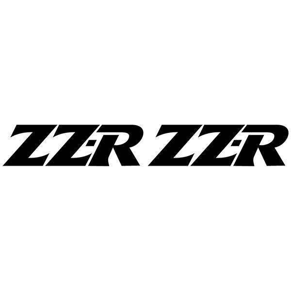 Autocollants: ZZR-1100-1992, ZZR