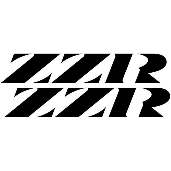 Autocollants: ZZR1100, ZZR