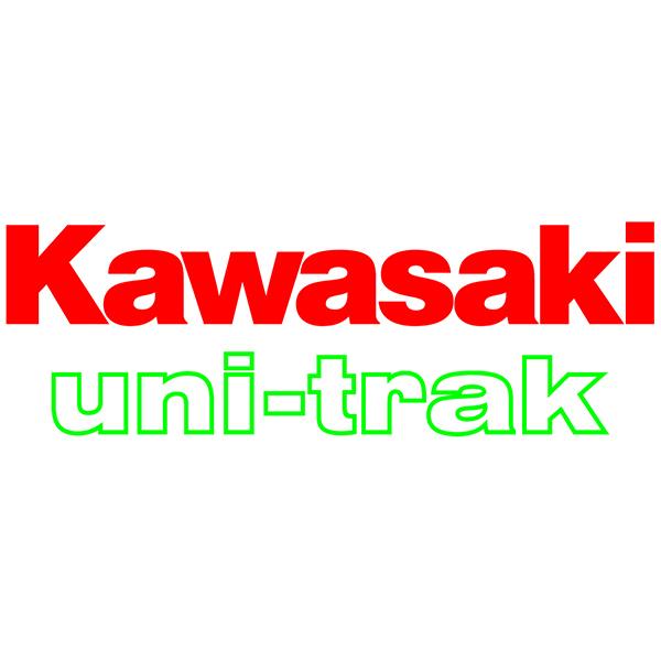 Autocollants: GPZ, Kawasaki uni-trac