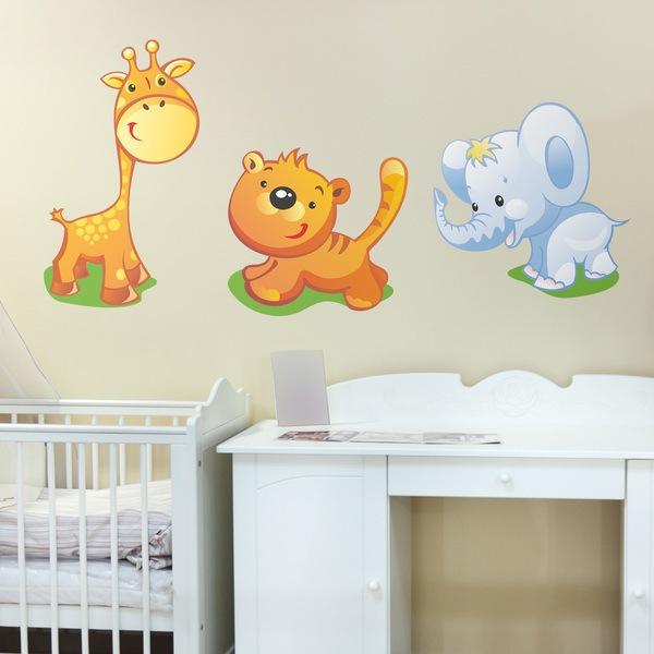 Stickers pour enfants: Zoo 1