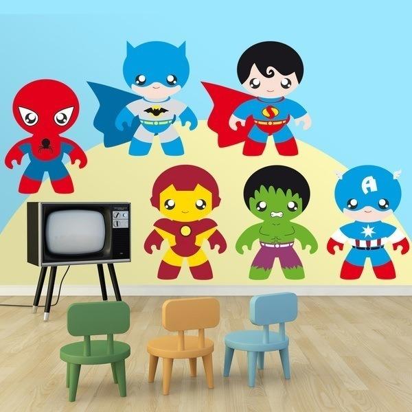 Stickers pour enfants: Heroes Kit