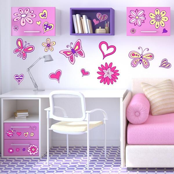 Stickers pour enfants: Amour