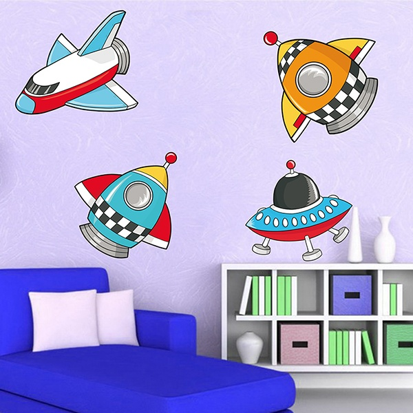 Stickers pour enfants: Space 2