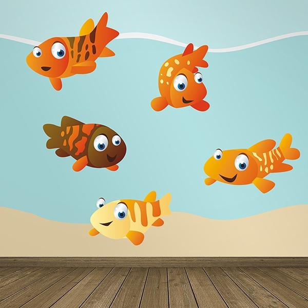 Stickers pour enfants: Aquarium 1