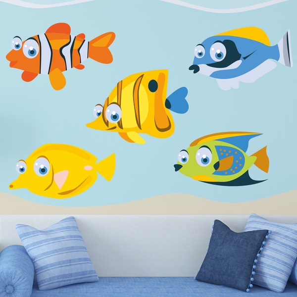 Stickers pour enfants: Aquarium 2