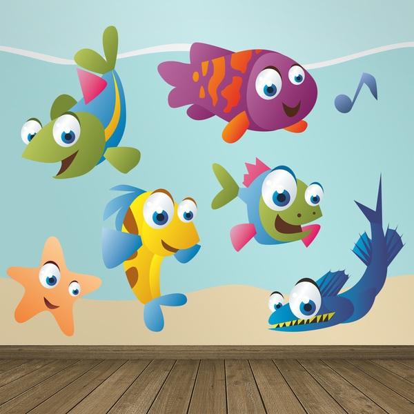 Stickers pour enfants: Aquarium 3