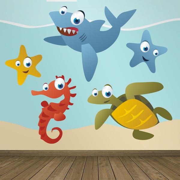 Stickers pour enfants: Aquarium 5