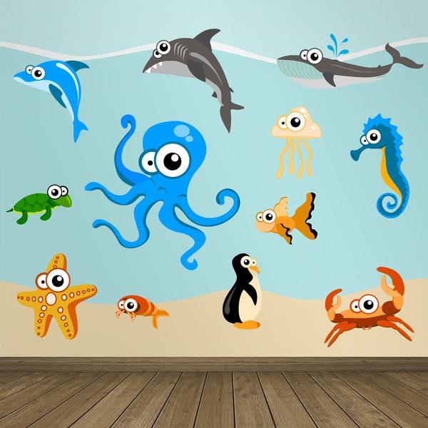 Stickers pour enfants: Aquarium 6