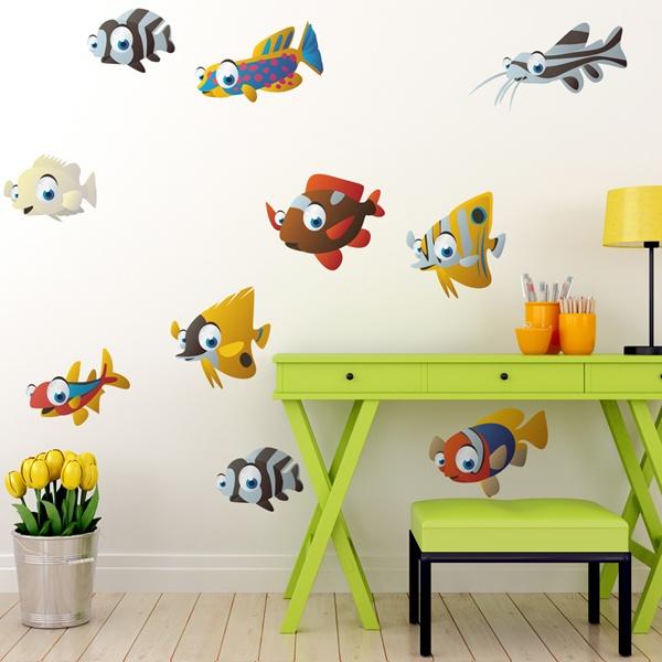 Stickers pour enfants: Aquarium 7