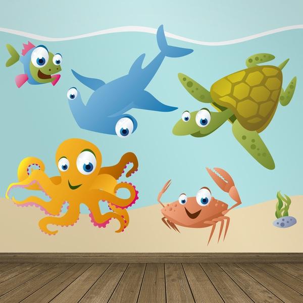 Stickers pour enfants: Aquarium 8