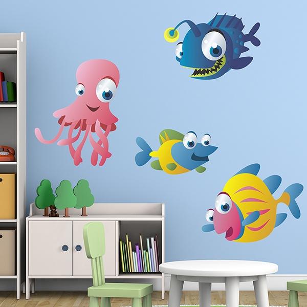 Stickers pour enfants: Aquarium 10