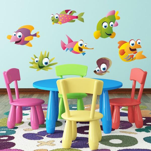 Stickers pour enfants: Aquarium 11