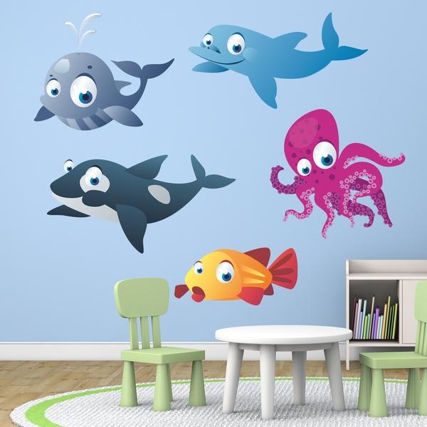 Stickers pour enfants: Aquarium 12