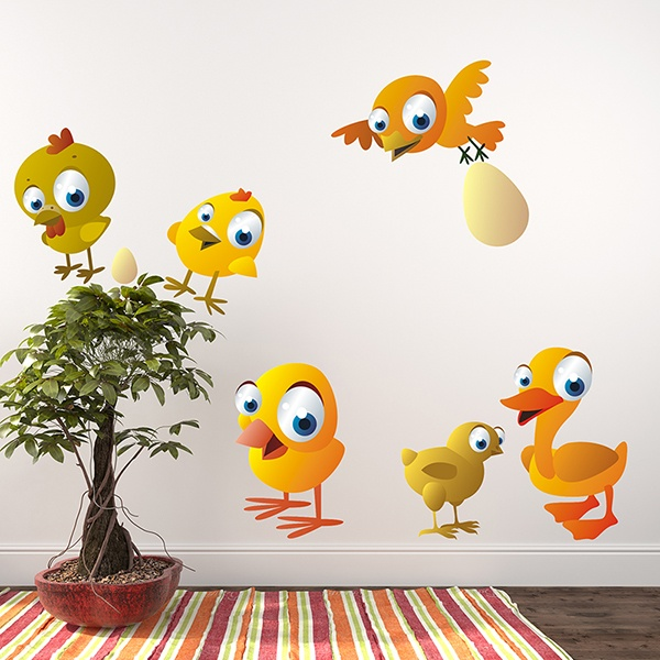 Stickers pour enfants: Oiseaux 3