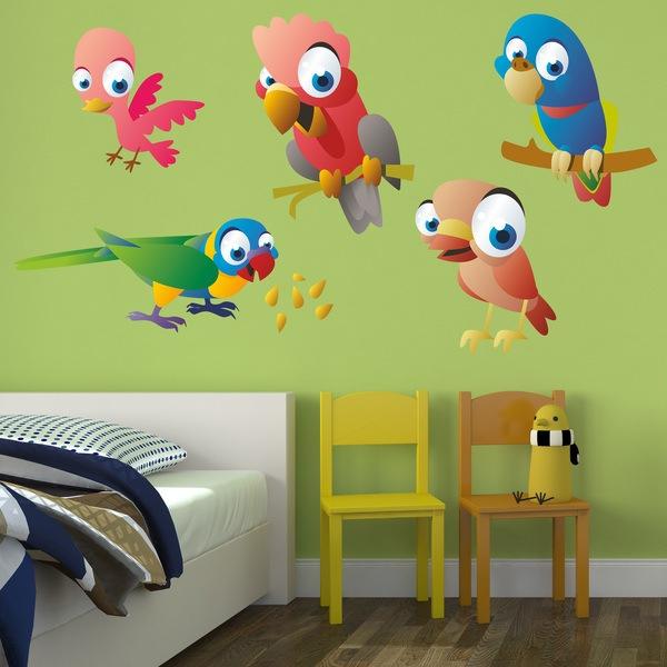 Stickers pour enfants: Oiseaux 5