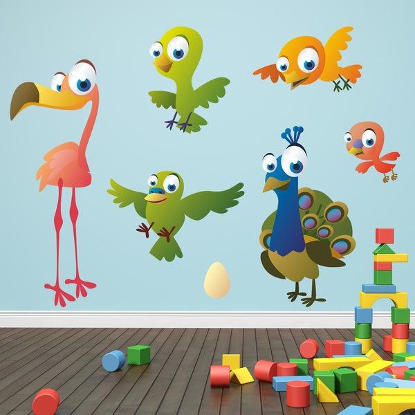Stickers pour enfants: Oiseaux 7