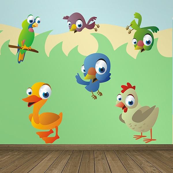 Stickers pour enfants: Oiseaux 9