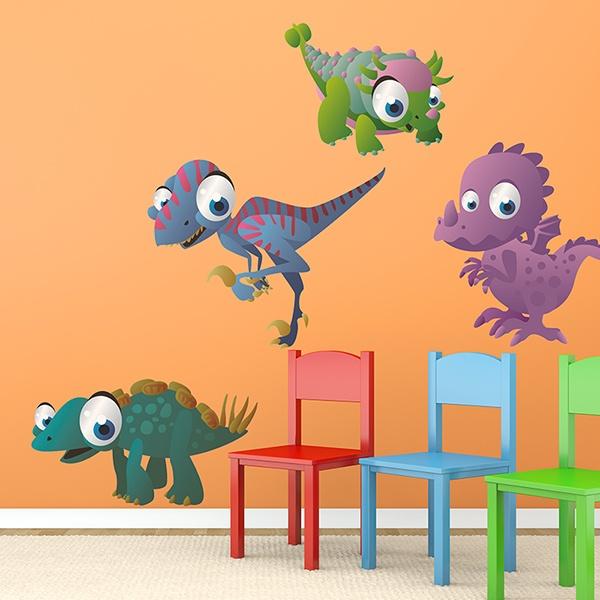 Stickers pour enfants: Dinosaurs 1