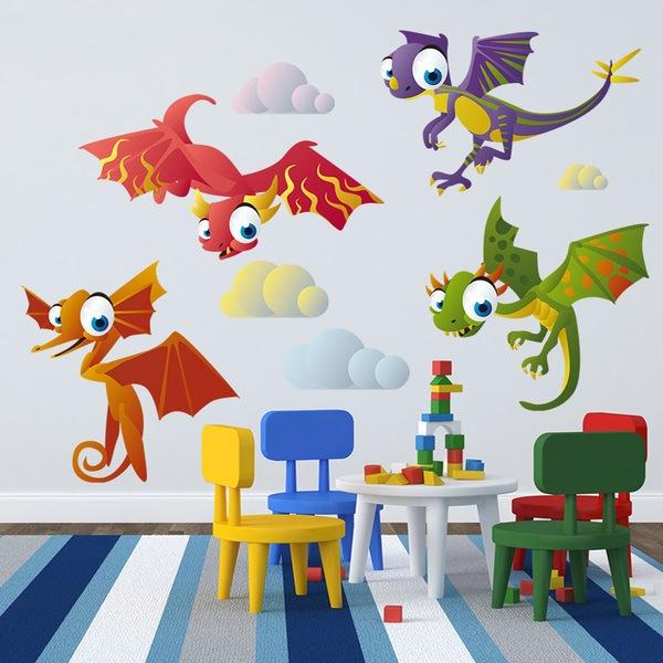 Stickers pour enfants: Dinosaurs 2