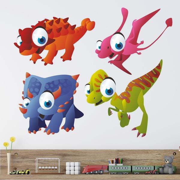 Stickers pour enfants: Dinosaurs 3