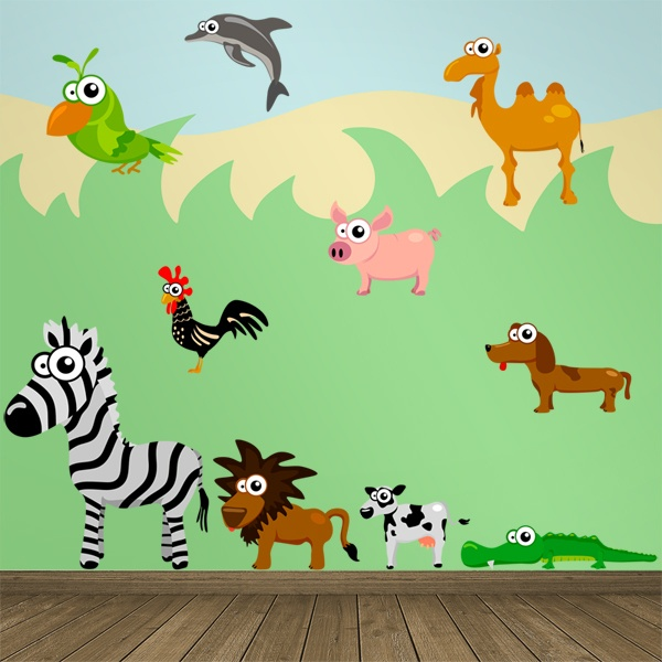 Stickers pour enfants: Jungle 2