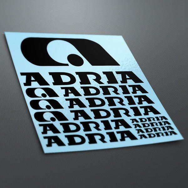 Autocollants: Kit Adria 1