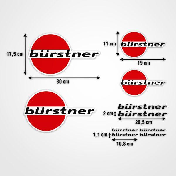 Autocollants: Kit Bürstner 1