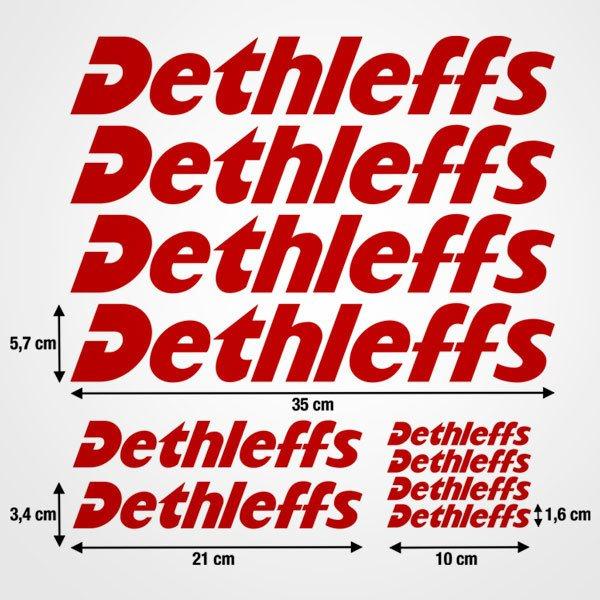 Autocollants: Kit Dethleffs 1