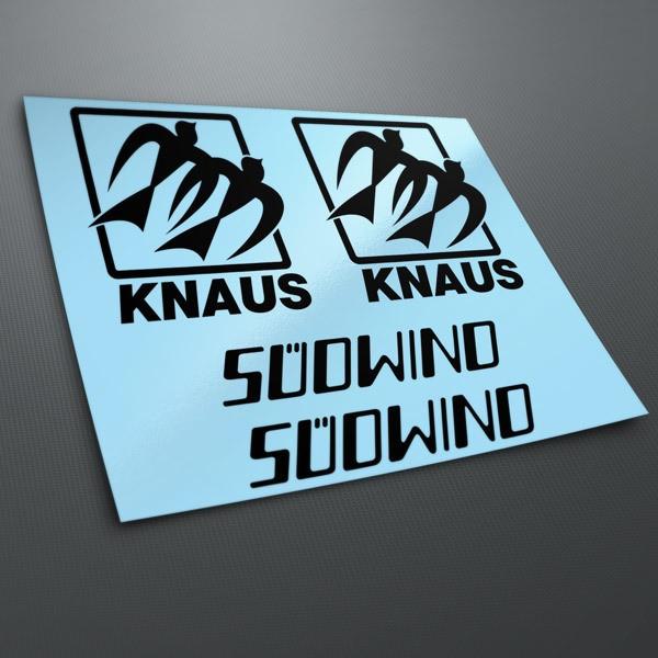 Autocollants: Kit Knaus Süomino