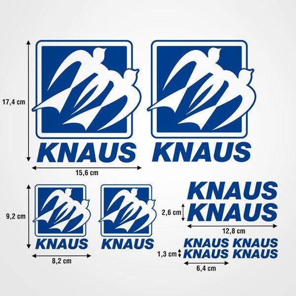 Autocollants: Kit Knaus 2