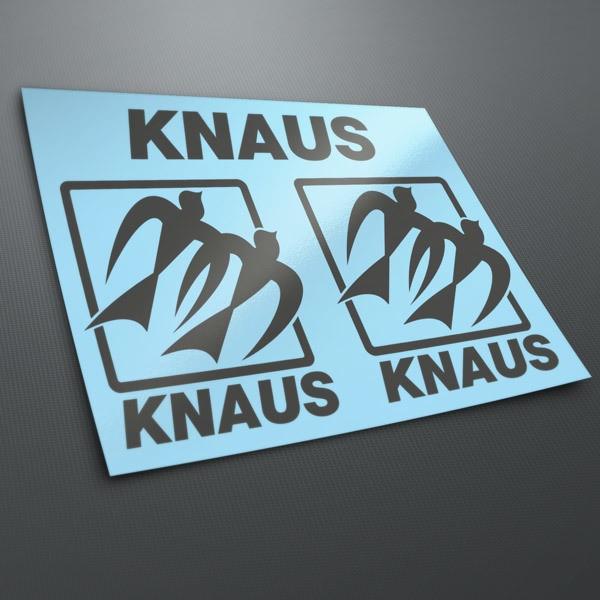 Autocollants: Kit Knaus 3