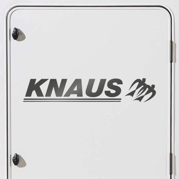 Autocollants: Knaus 3