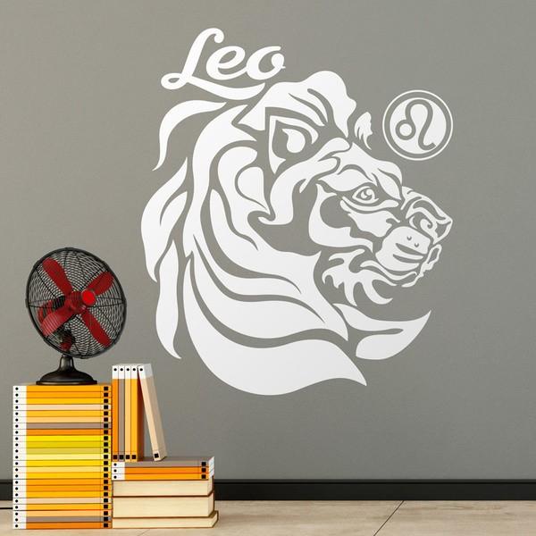 Stickers muraux: zodiaco 27 (Leo)