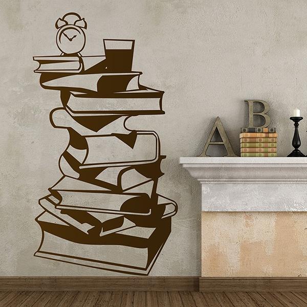 Stickers muraux: Beaux livres