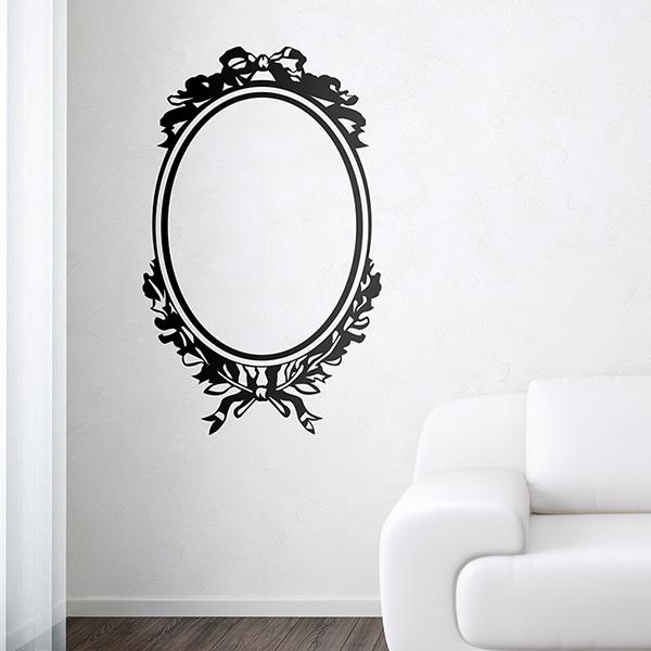 Stickers muraux: Miroir