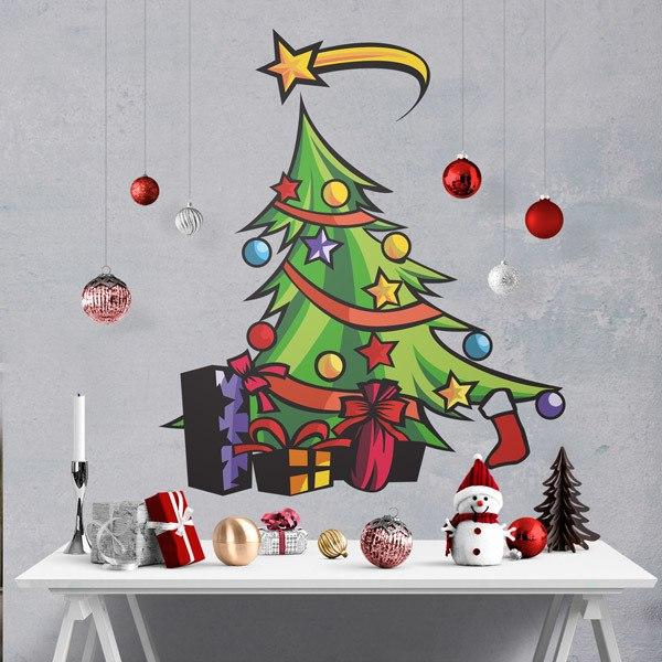Stickers muraux: Christmas tree
