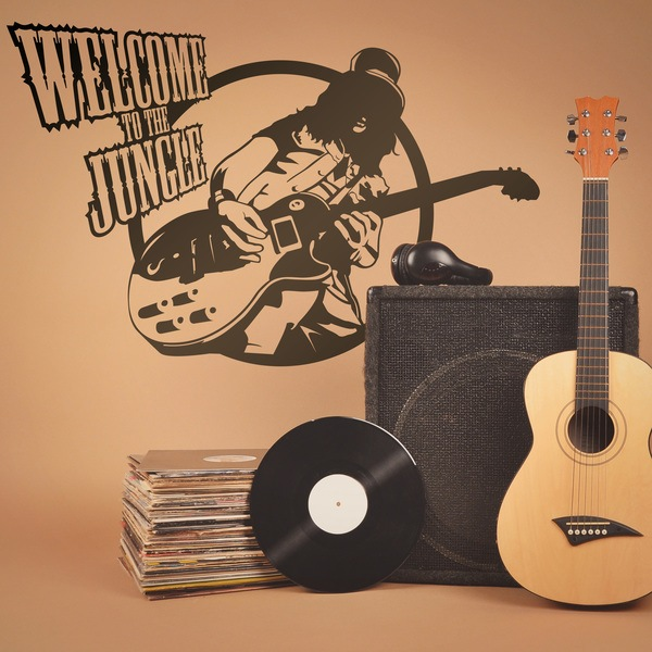 Stickers muraux: Guitar hero