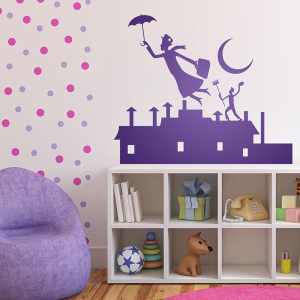 Stickers pour enfants: Poppins