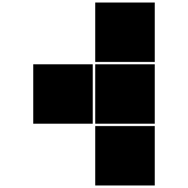 Stickers muraux: Pieza 5