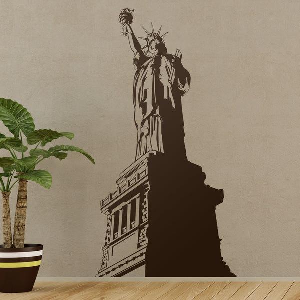 Stickers muraux: La Estatua de la Libertad