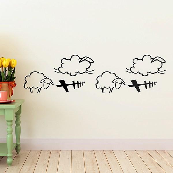 Stickers pour enfants: Moutons Valance