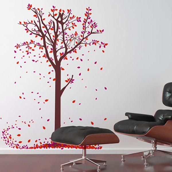 Stickers muraux: feuilles des arbres