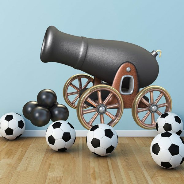 Stickers pour enfants: Pirate Cannon