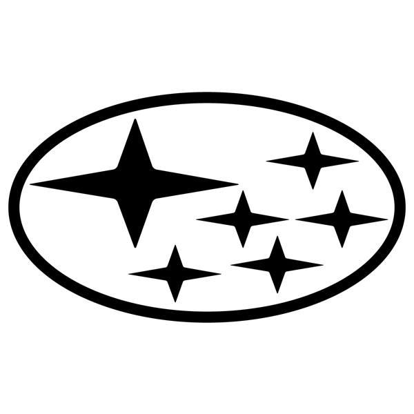 Autocollants: Logo Subaru