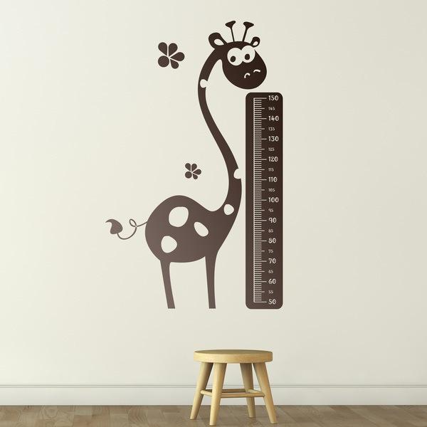 Stickers pour enfants: Giraffe Meter