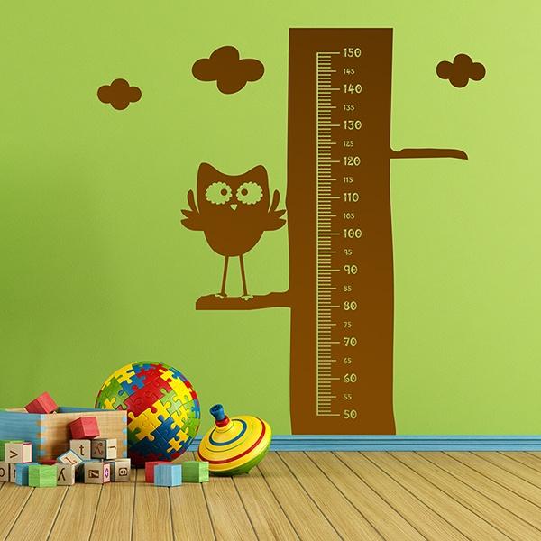 Stickers pour enfants: Hibou Meter